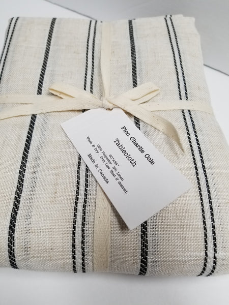 Cape Cod Stripe Tablecloth