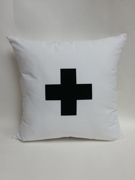 Swiss Cross Cotton  Pillow