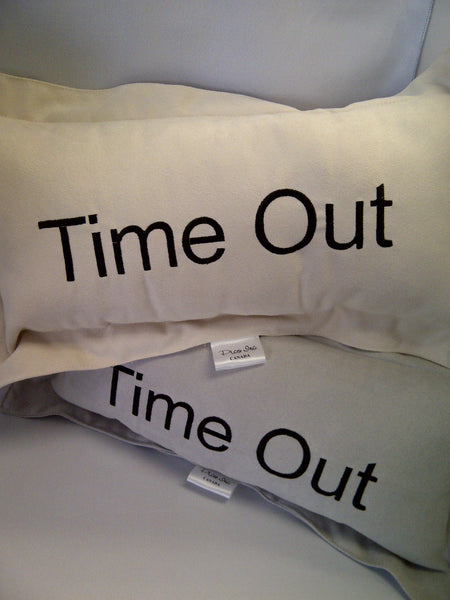 Time Out Ultra Suede Pillow
