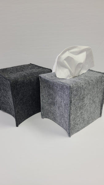 Felt Tissue Box Cover Square