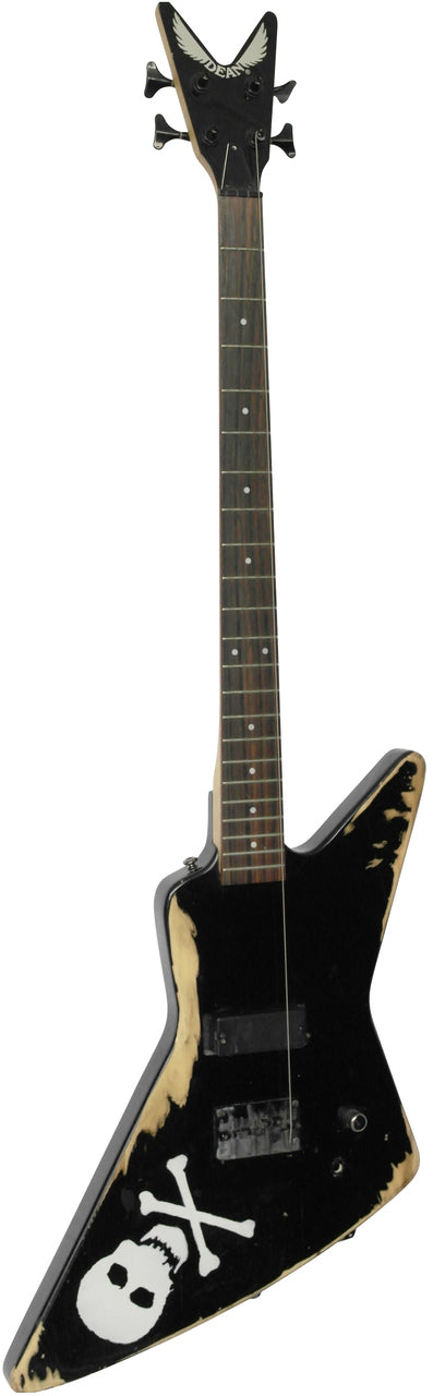 Dean X Electric Bass Guitar Black