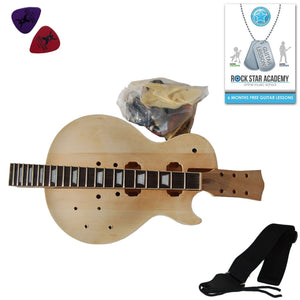 Electric Guitar Les Paul - DIY Kit - Build Your Own Guitar