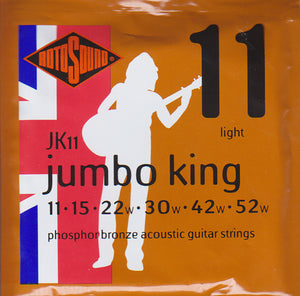 Rotosound Acoustic Guitar Strings JK11