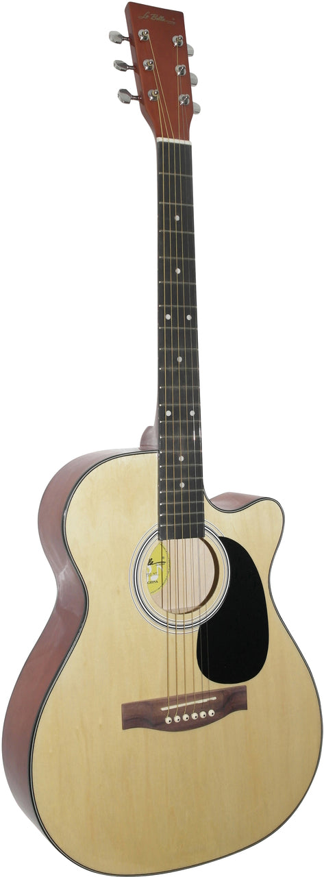 La Bella Cutaway Grand Auditorium Acoustic Guitar
