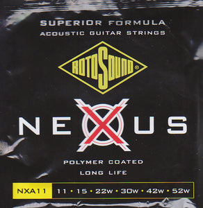 Rotosound Acoustic Guitar Strings NAX11