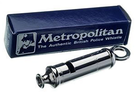 Metropolitan British Police Whistle