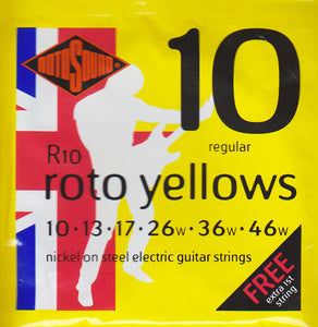 Rotosound Electric Guitar Strings R10
