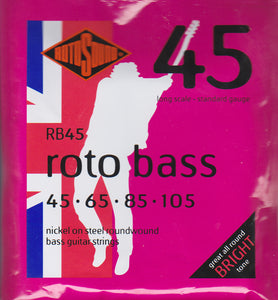 Rotosound Bass Guitar Strings RB45
