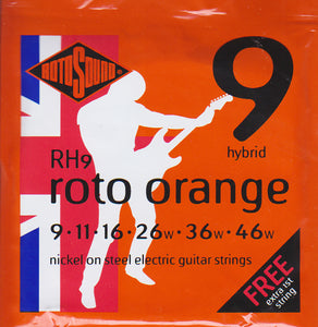 Rotosound Electric Guitar Strings RH9