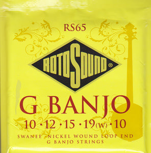 Rotosound G Banjo Strings RS65