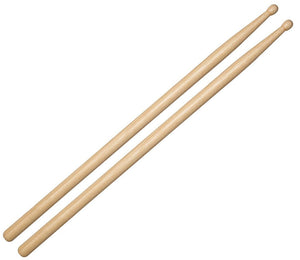 Rock Star Academy Hickory Wood Tip Drum Sticks 5A