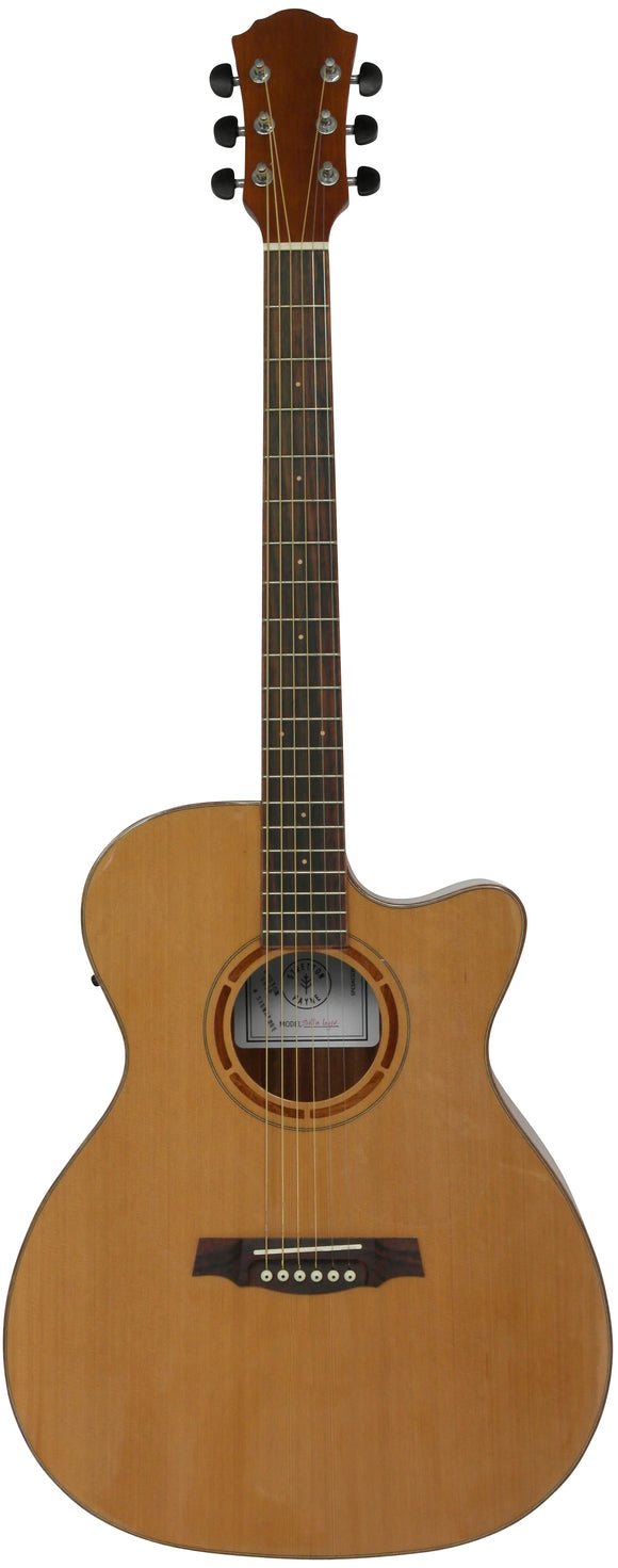 Stretton Payne Custom Shop G36CEQ Grand Auditorium Acoustic Guitar Electro Acoustic With Plug In Electric Pick-up