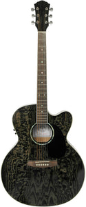 Stretton Payne Custom Shop J230BKCEQ Jumbo Acoustic Guitar Electro Acoustic With Plug In Electric Pick-up