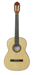 Stretton Payne CL080L LEARNER Full Size, Linden Top Soundboard Classical Spanish Acoustic Guitar