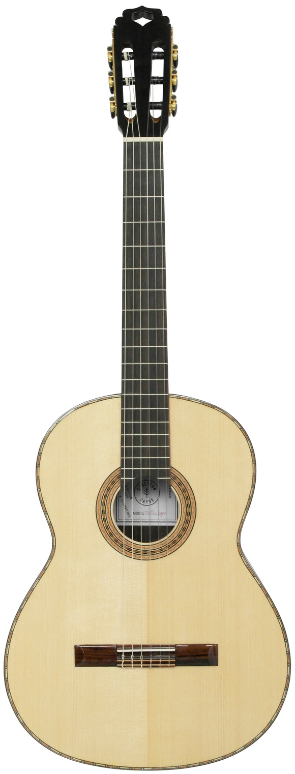 Stretton Payne CL1500S PROFESSIONAL Full Size, ALL SOLID WOOD Solid Spruce Top Soundboard Classical Spanish Acoustic Guitar