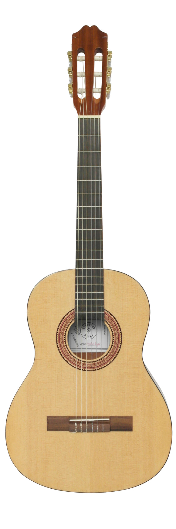 Stretton Payne CL170S MASTER 3/4 Size Solid Spruce Top Soundboard Classical Spanish Acoustic Guitar