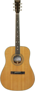 Stretton Payne Custom Shop EARTH D250 Dreadnought Acoustic Guitar, Size 41 inches, Solid Spruce Top, Mahogany Back, Mahogany Sides.