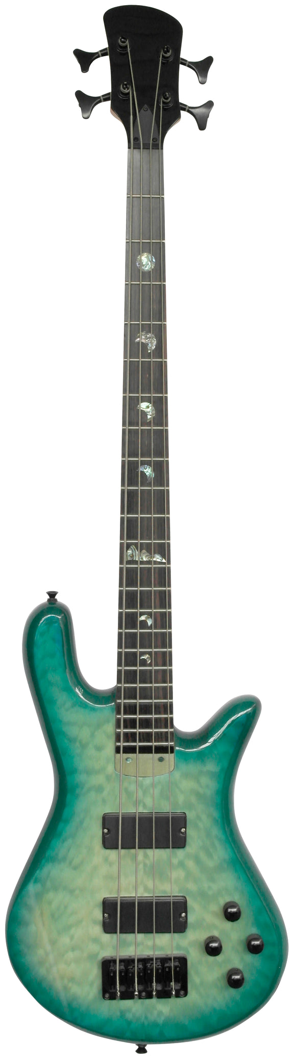 Stretton Payne Custom Shop ELECTRIC BASS GUITAR 4 String Turquois