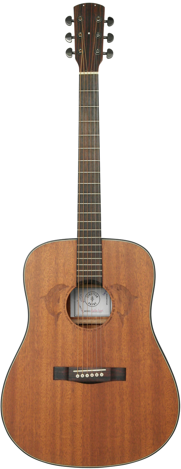 Stretton Payne Custom Shop SURF D230 Dreadnought Acoustic Guitar, Size 41 inches, Solid Mahogany Top, Mahogany Back, Mahogany Sides.