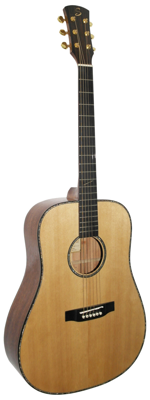 Stretton Payne D81 ALL SOLID Dreadnought Acoustic Guitar Solid Spruce Top Solid Mahogany Back And Sides