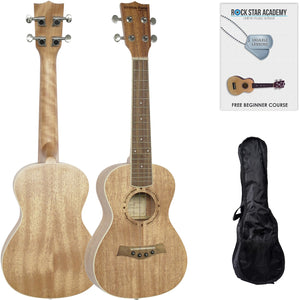 Stretton Payne Concert Ukulele with Gig Bag and Online Lessons