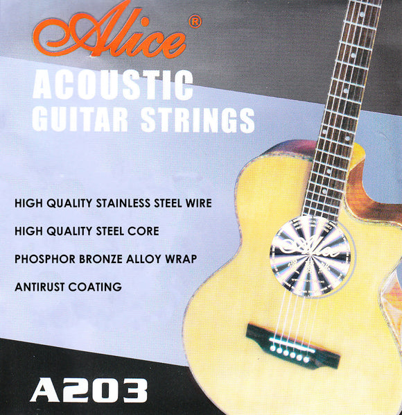 Alice Acoustic Guitar Strings A203