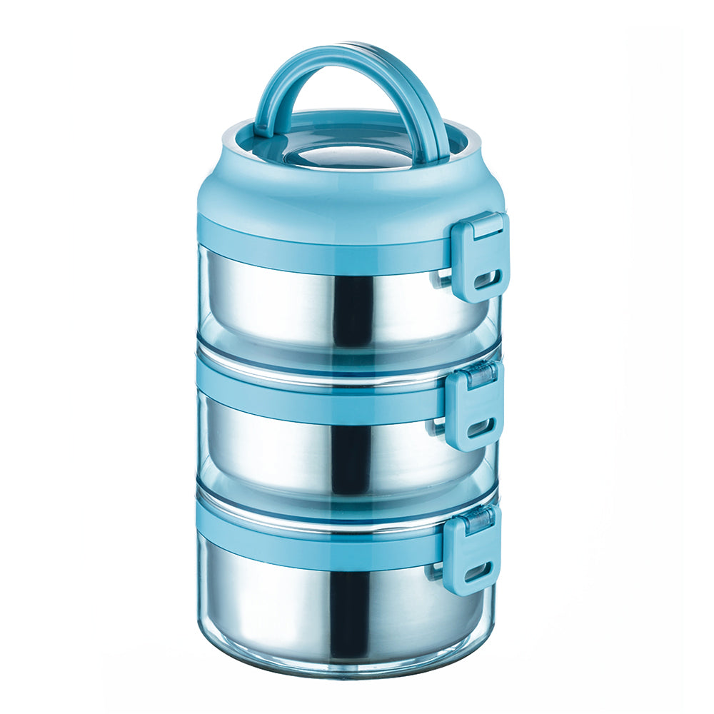 stainless steel stackable lunch box