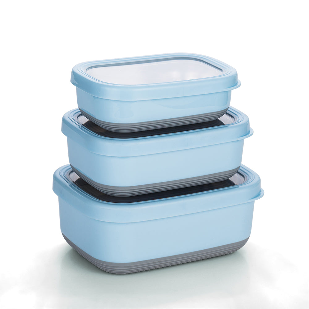 stainless steel food container set