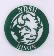 Load image into Gallery viewer, NDSU Wall Hanging 14 Inch