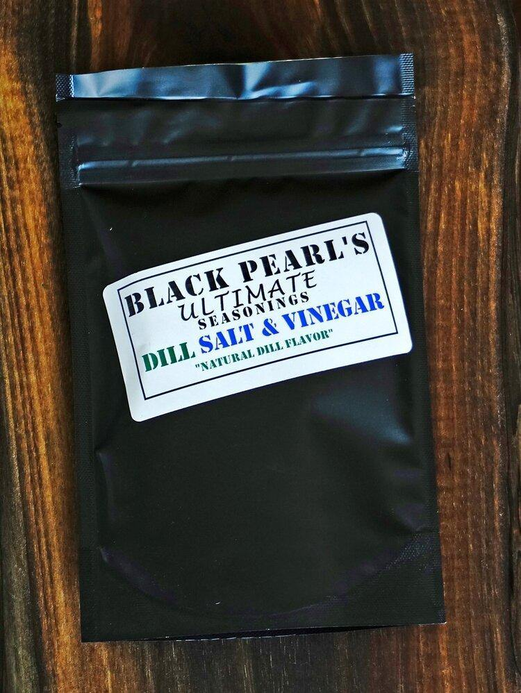 Black Pearl Dill Salt & Vinegar Rub