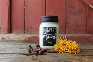 Candle Harvest Festival 13oz Mason Jar