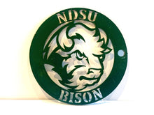 Load image into Gallery viewer, NDSU Keychain