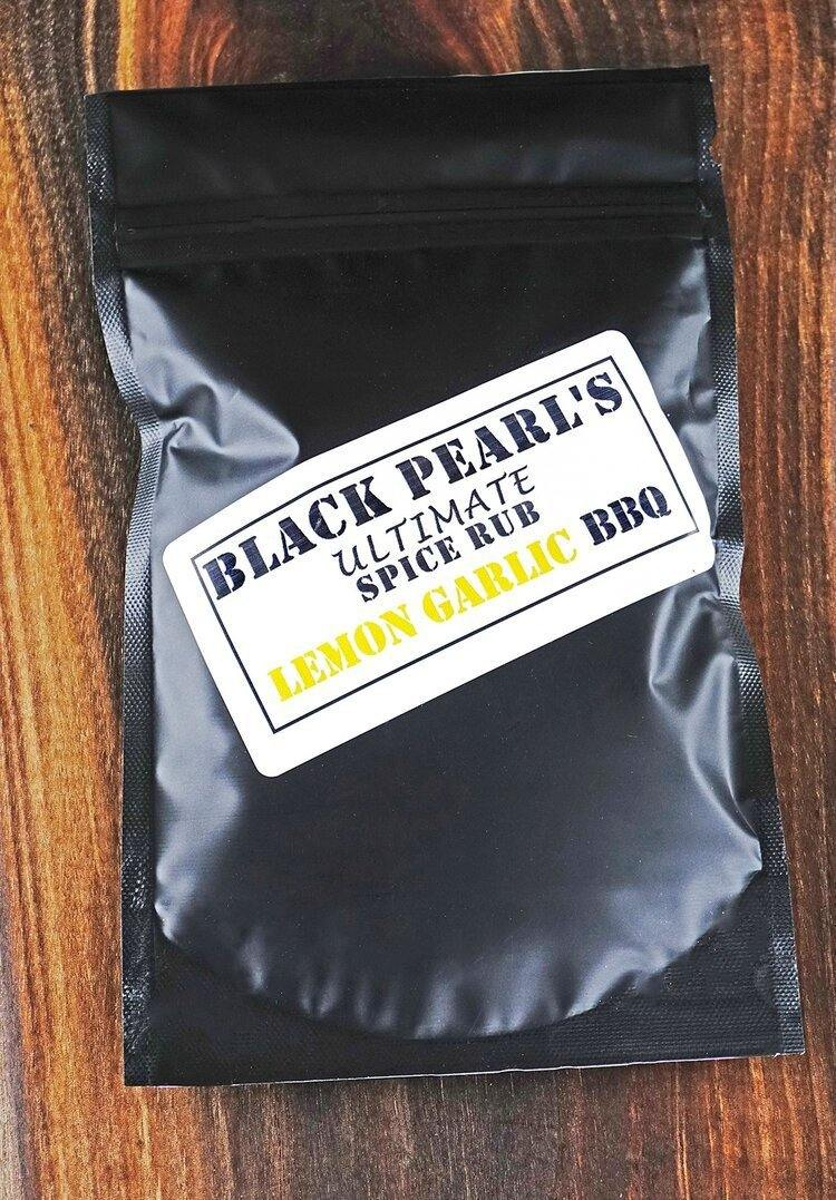 Black Pearl Lemon Garlic BBQ Rub - LoneTree Designs