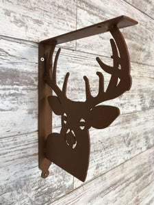 Shelf Bracket Deer (set of 2)