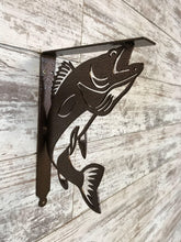 Load image into Gallery viewer, Shelf Bracket Walleye (set of 2) - LoneTree Designs