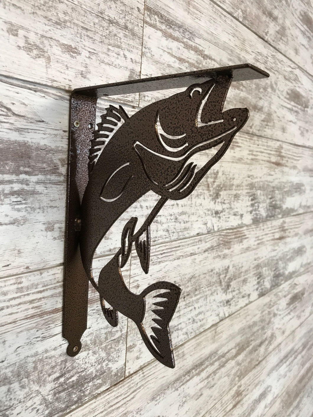 Shelf Bracket Walleye (set of 2) - LoneTree Designs