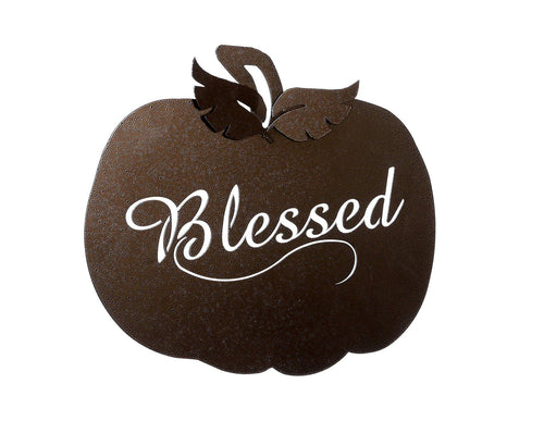 Pumpkin Blessed Wallhanging