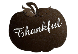 Pumpkin Thankful Wallhanging