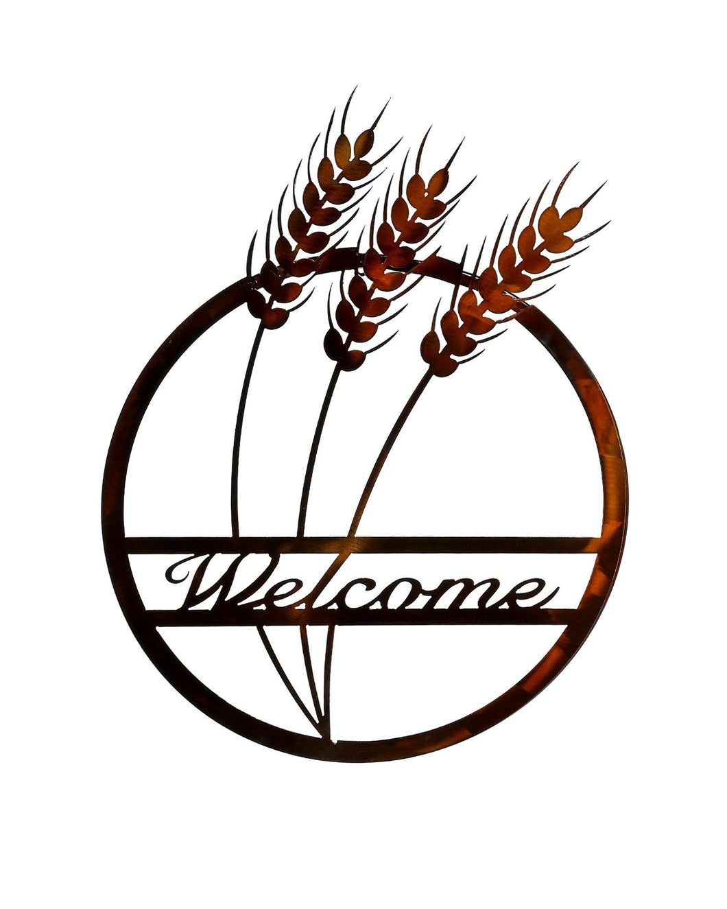 Wheat Welcome Wallhanging
