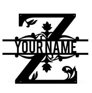 Monogram Z - LoneTree Designs
