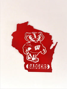 Wisconsin Badger State Wallhanging