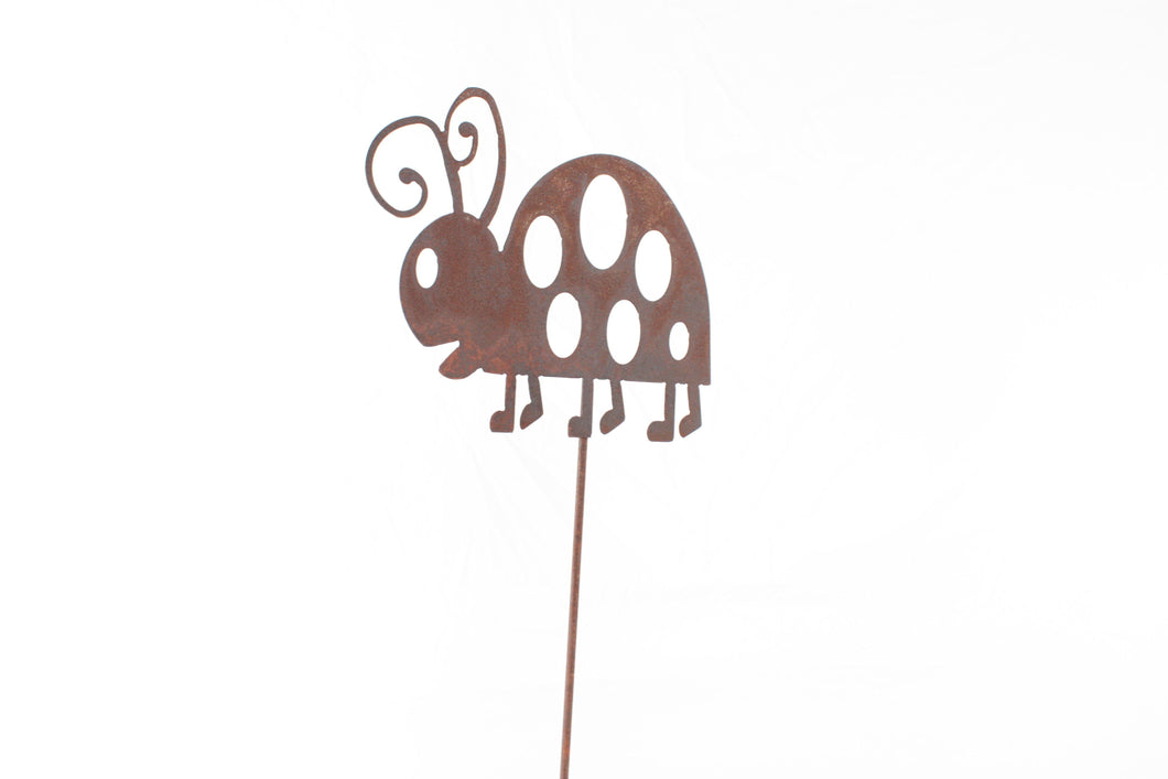 Garden stake Lady Bug - LoneTree Designs