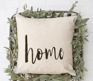 Home Pillow - LoneTree Designs