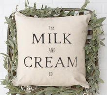 Load image into Gallery viewer, Milk and Cream Pillow - LoneTree Designs