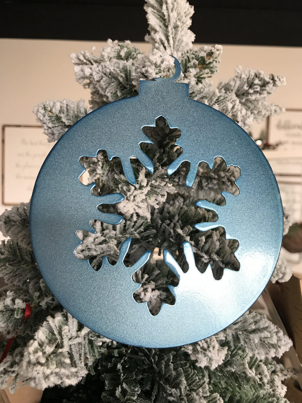 Ornament Christmas Snowflake Ball