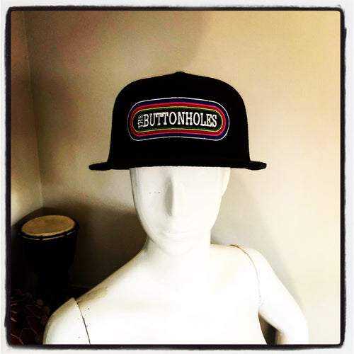 Hat - The Buttonholes Rainbow Logo
