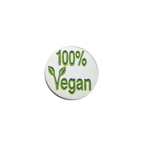 100% Vegan Lapel Pin Badge - Minimum Mouse