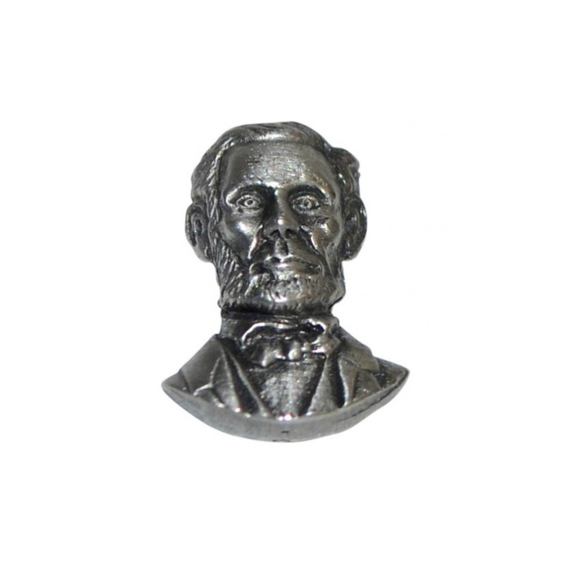 Abraham Lincoln Pewter Lapel Pin Badge - Minimum Mouse