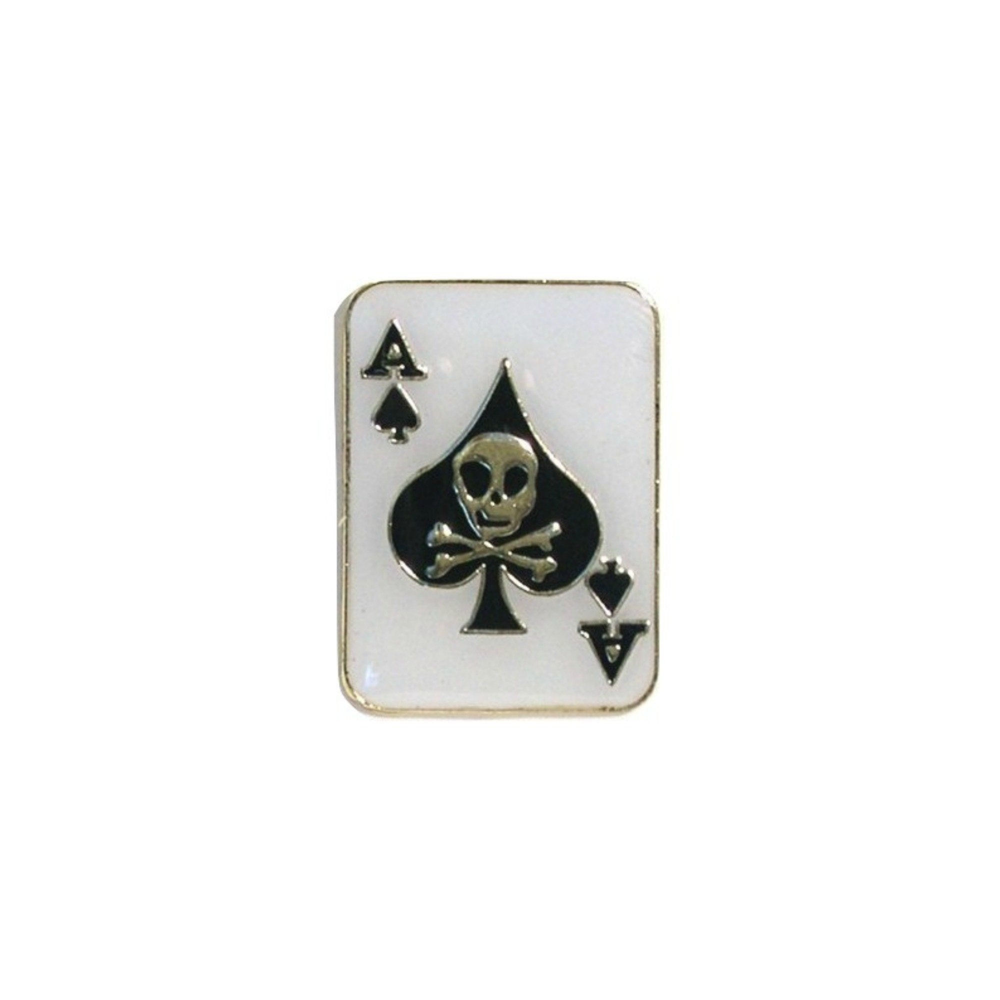 Ace Of Spades Enamel Lapel Pin Badge - Minimum Mouse