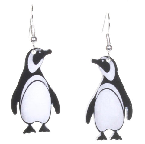 Acrylic Penguin Earrings by Love Boutique - Minimum Mouse